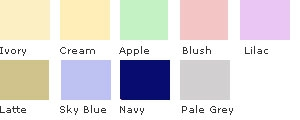 Polycotton Percale Swatches