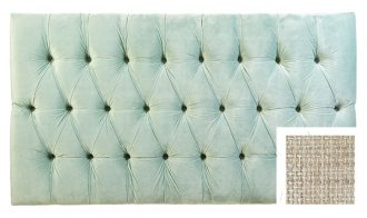 "4'6"" - Double Venice Headboard, Hessian Beige-0"