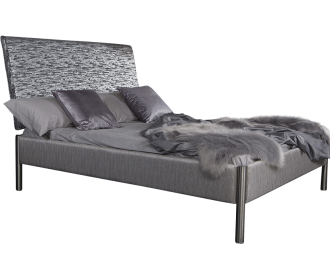 Oslo Glitz Upholstered Bed Frame