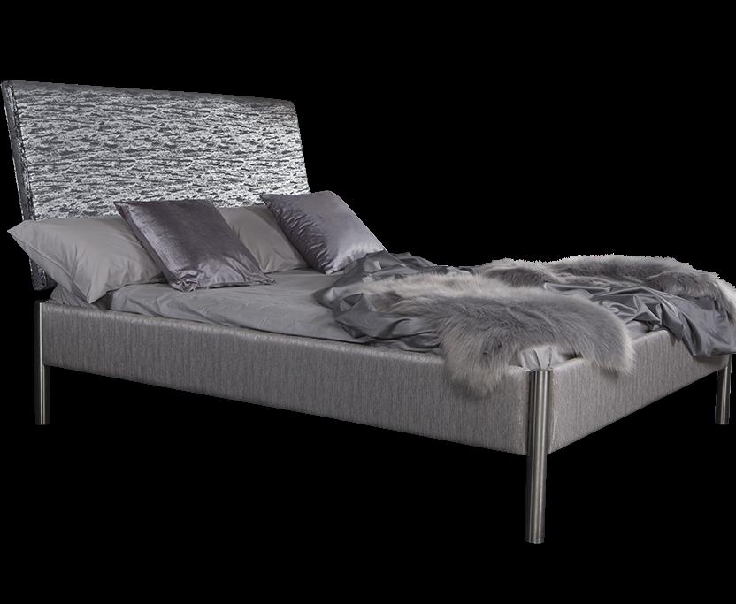 Oslo Glitz Upholstered Bed Frame