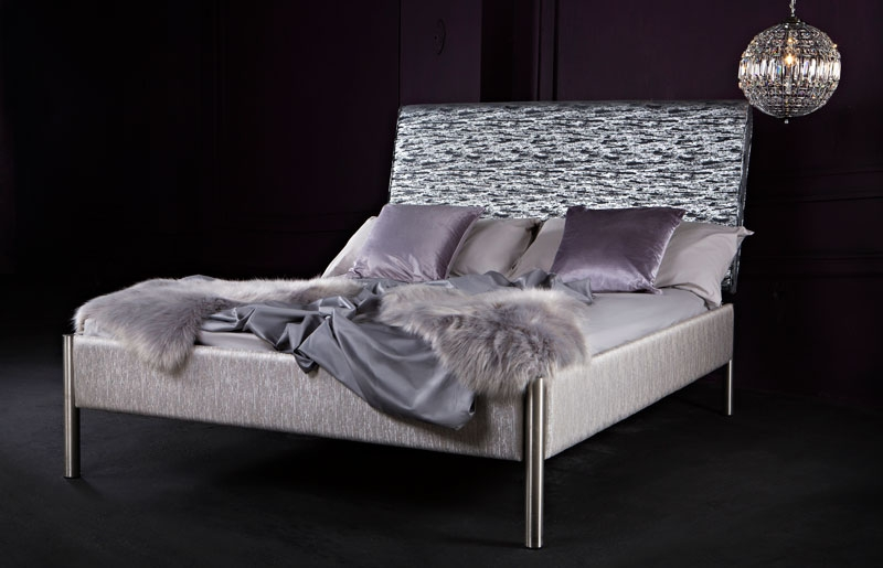 Oslo Glitz Upholstered Bed-0