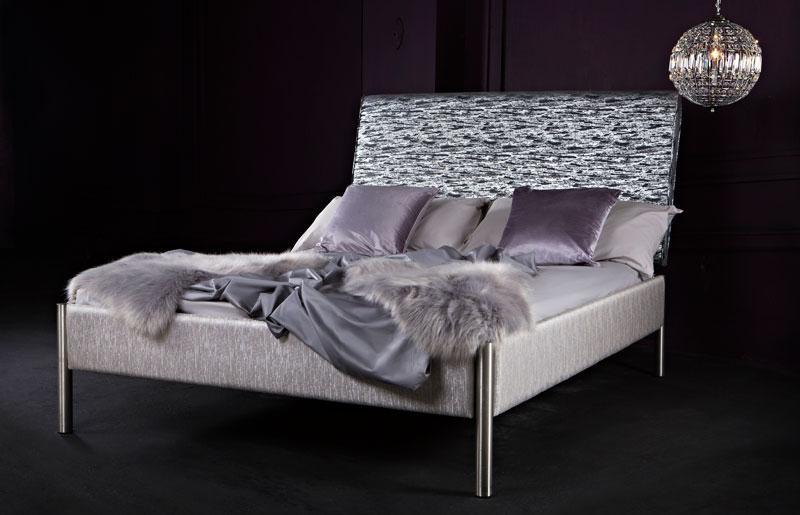 Oslo Glitz Upholstered Bed-0
