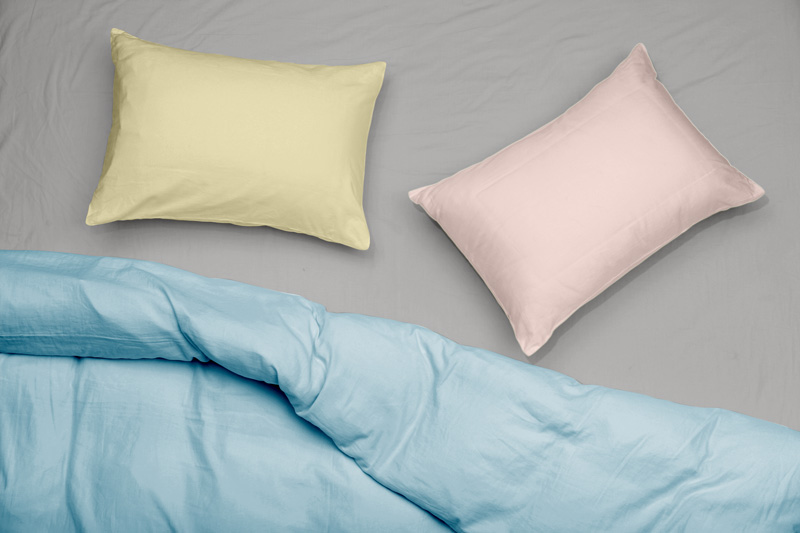 Satin Stripe Pillow Cases Longbeds